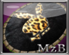 Leopard PlayBoy OvalRug