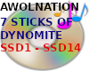 7 STICKS OF DYNOMITE