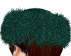 Emerald Fur Hat