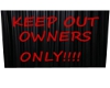 keep out pic