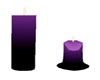 s~n~d melt purple candle