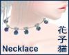 BlackOpal:Bell:Necklace