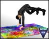 Crazy street dance mat