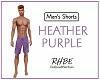 RHBE.Purple Gym Shorts