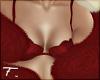 🦋| Faux Fur Boa | Red