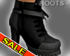 Cute Club Black Boots
