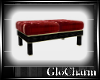 Glo* LeatherBench~Red