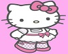 HelloKitty Outfit Blonde