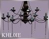 K beach oasis chandelier