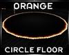 Orange Circle Floor lQl