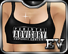 EV ADvisory Crop Top