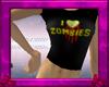 .:D:. I <3 Zombies Tee