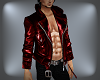 *S* Red Leather Jacket