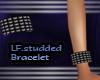 (LF) studded bracelet
