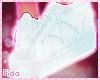 !F Blue Sneakers