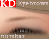 ((n) KD blonde brows 2