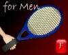 [f] Tennis Racket-blue-m