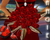 Ruby Red Wedding Bouquet