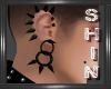 Ear Spikes -Black