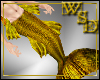 Merman Gold Tail & Fins