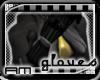 [AM] Cammy Black Gloves