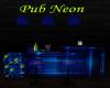 Pub Neon Blue