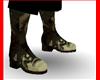 Worn Camo Boots