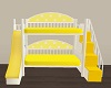 Kids yellow bed