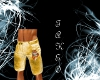Golden Tiger Shorts (M)