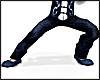 Kungfu Silk Pants BLUE