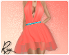 Coral Butterfly Dress