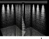 dark basement room