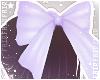 F. Babydoll Bow Lilac