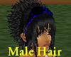 (A) Black Rave Hair