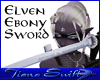 Elven Ebony Sword (F)