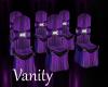 V & E Wedding Row Chairs
