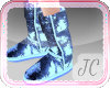 {JC} Shiny UGGs Blue
