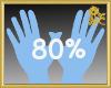 80% Scaler Hands