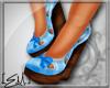 [E.M.] Cutie Wedges Blue