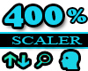 400% Scaler Head Resizer