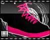 L Toxic Pink Wing Shoes