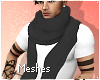 NEW Male Scarf Mesh