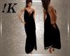 !K! Onyx Drape Gown
