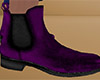 Dark Purple Ankle Boot M