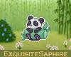 Bamboo Panda Badge