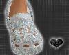 *CROCS Diamond Shoes