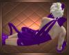 Purple Latex Neko Tail