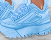 f. blue chunky kicks