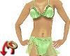 Bikini/Sarong Green
