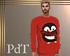 PdT Red PJs Top M